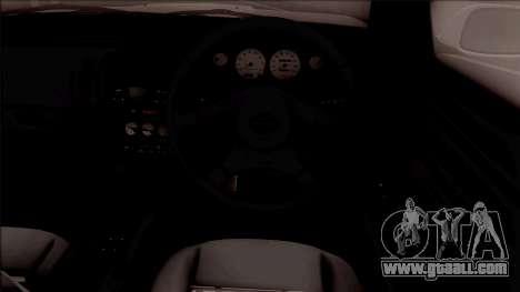 Nissan Silvia S14 Pandem for GTA San Andreas inner view