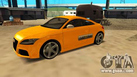 Audi TT RS Afonya TV for GTA San Andreas back view