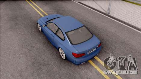 BMW M3 E92 Hamann Tuning for GTA San Andreas back view