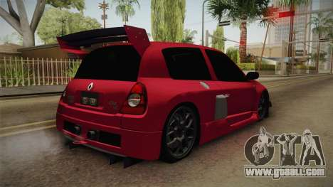 Renault Clio v6 for GTA San Andreas right view