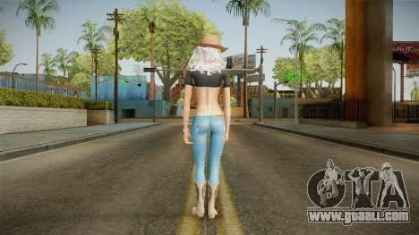 Cowgirl Suzy Skin for GTA San Andreas