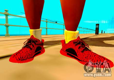 Adidas Yeezy Boost 350 Pack for GTA San Andreas second screenshot