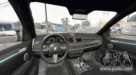GTA 5 BMW X5 M (F85) 2016 [replace] rear right side view
