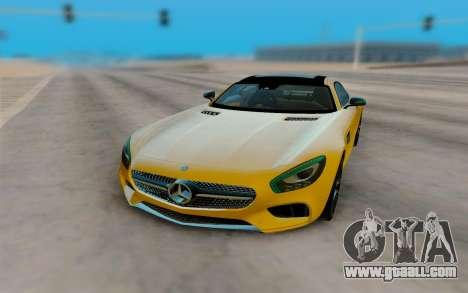 Mercedes-Benz SLS AMG for GTA San Andreas right view