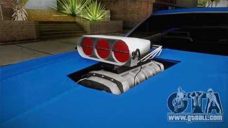 Ford Gran Torino Cabrio 1975 for GTA San Andreas inner view