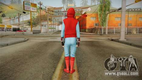 Spiderman Homecoming Skin v3 for GTA San Andreas third screenshot