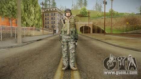 Georgian Soldier Skin v2 for GTA San Andreas second screenshot