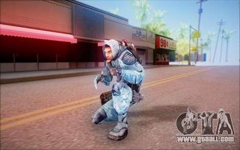 Sviblov of S. T. A. L. K. E. R. for GTA San Andreas fifth screenshot