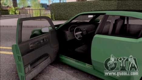 GTA V Bravado Buffalo Edition v1 for GTA San Andreas inner view