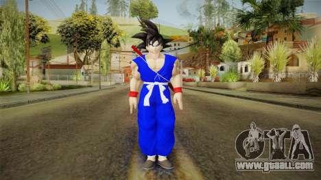 Goku Original DB Gi Blue v1 for GTA San Andreas second screenshot
