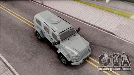 Terradyne Gurkha LAPV for GTA San Andreas