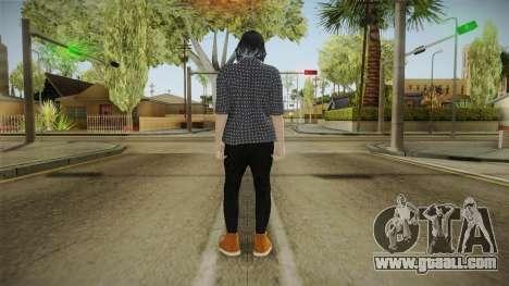 GTA Online: SmugglerRun Female Skin for GTA San Andreas third screenshot
