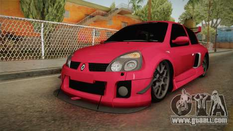 Renault Clio v6 for GTA San Andreas