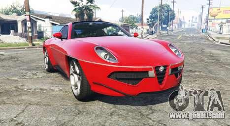 Alfa Romeo Disco Volante 2013 [add-on] for GTA 5