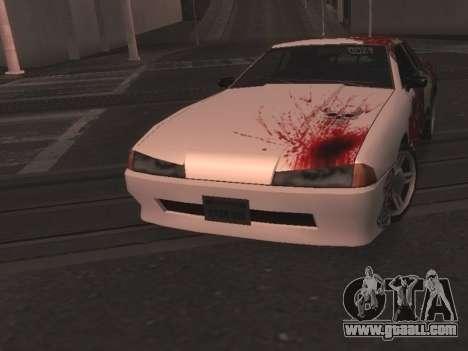 New Elegy Paintjob for GTA San Andreas back left view