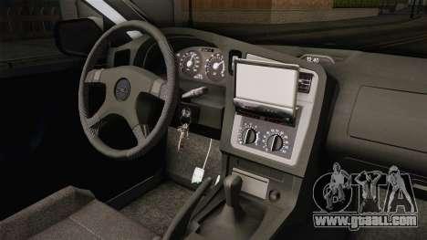 Opel Astra G Politia Romana for GTA San Andreas inner view