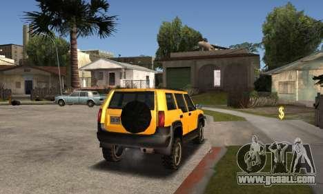 2002 Landstalker for GTA San Andreas left view