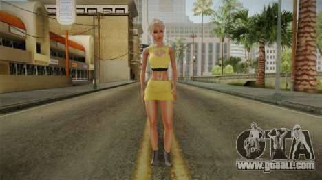 Nousha Skin for GTA San Andreas second screenshot