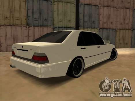 Mercedes-Benz S63 Brabus for GTA San Andreas left view