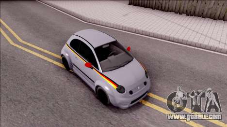 Fiat 500 Abarth for GTA San Andreas right view