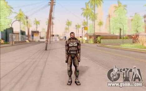 Vano of S. T. A. L. K. E. R. in overalls SEVA for GTA San Andreas third screenshot