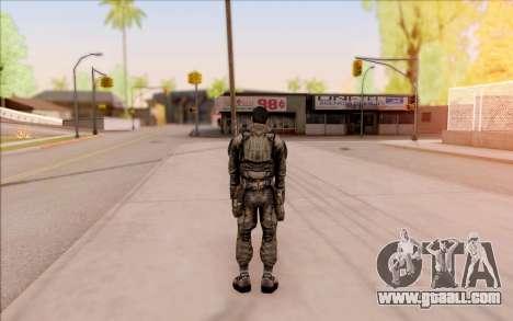 Vano of S. T. A. L. K. E. R. in overalls SEVA for GTA San Andreas fifth screenshot
