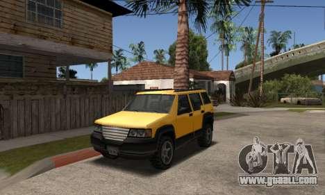 2002 Landstalker for GTA San Andreas