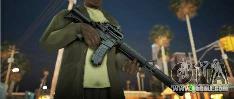 Black Edition Weapon Pack for GTA San Andreas fifth screenshot