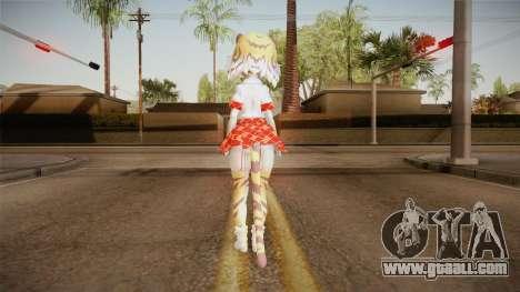 Kemono Friends - Tiger for GTA San Andreas third screenshot