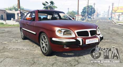 GAZ 3111 Volga [replace] for GTA 5