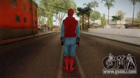 Spiderman Homecoming Skin v2 for GTA San Andreas third screenshot