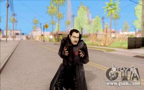 Captain Sobolev of S. T. A. L. K. E. R. for GTA San Andreas fifth screenshot