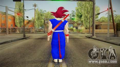 Goku Original DB Gi Blue v2 for GTA San Andreas third screenshot