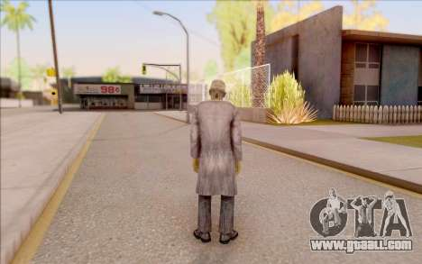 Zombie scientist from S. T. A. L. K. E. R. for GTA San Andreas forth screenshot