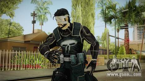 Punisher Omega Skin for GTA San Andreas