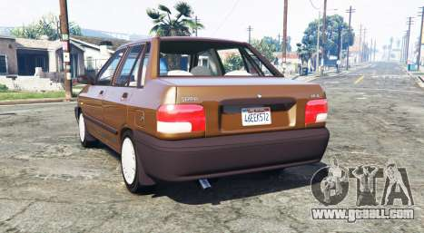 GTA 5 SAIPA 131 SL [replace] rear left side view