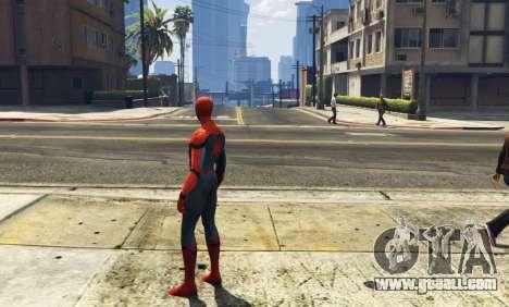 GTA 5 Spiderman [Add-On Ped] 2.2 third screenshot