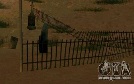 Ghost in the village of El Castillo del Diablo for GTA San Andreas second screenshot