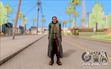 The male of S. T. A. L. K. E. R. for GTA San Andreas second screenshot