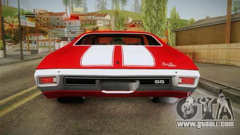 Chevrolet Chevelle SS 1970 vv1 for GTA San Andreas engine
