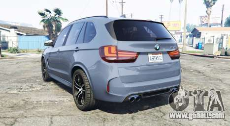 GTA 5 BMW X5 M (F85) 2016 [replace] rear left side view