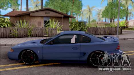 Ford Mustang 1997 Sport for GTA San Andreas left view