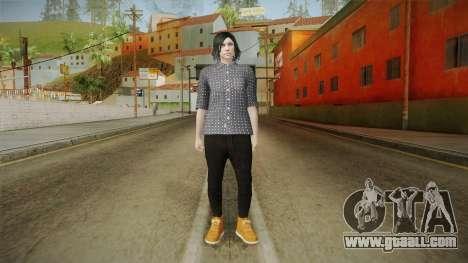 GTA Online: SmugglerRun Female Skin for GTA San Andreas second screenshot