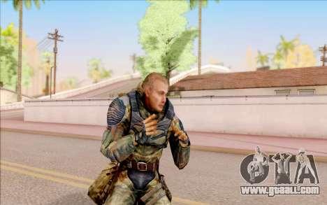 That of S. T. A. L. K. E. R. for GTA San Andreas fifth screenshot