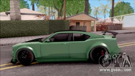 GTA V Bravado Buffalo Edition v1 for GTA San Andreas left view