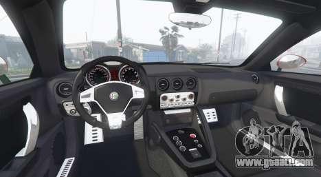 GTA 5 Alfa Romeo Disco Volante 2013 [add-on] rear right side view