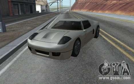 MFR Bullet Legendary Racer for GTA San Andreas