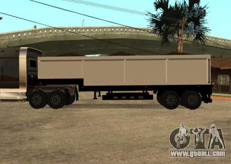 Realistic Arctic2 Trailer for GTA San Andreas left view