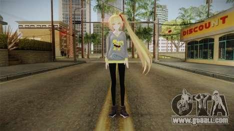 Hoodie Neru Akita Skin for GTA San Andreas second screenshot