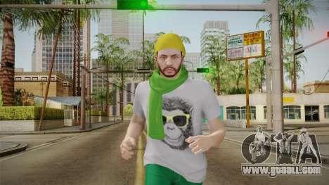 GTA Online - Hipster Skin 2 for GTA San Andreas